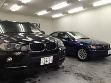 BMWのメッキモールくすみ、ライトくもり、本革シートのリペア、徹底して綺麗にします!