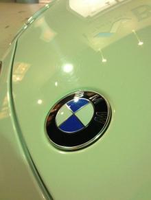 古い車のリフレッシュ② BMWのガラスコーティング