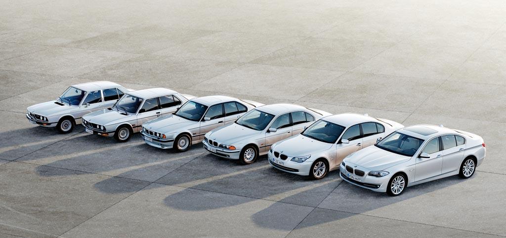 伝統のBMW 5シリーズ